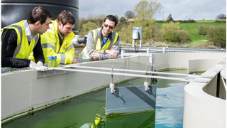 Wessex Water and Bath trial algae treatment