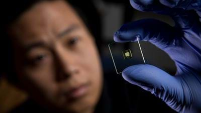 Lab on a chip 3D-printed