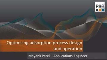 Optimising adsorption process design and operation