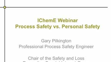 Process Safety vs. Personal Safety