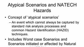 Hazard identification – identifying the unknown unknowns
