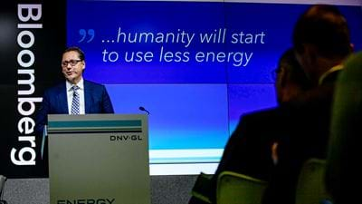 DNV GL: Energy demand will plateau in 2030