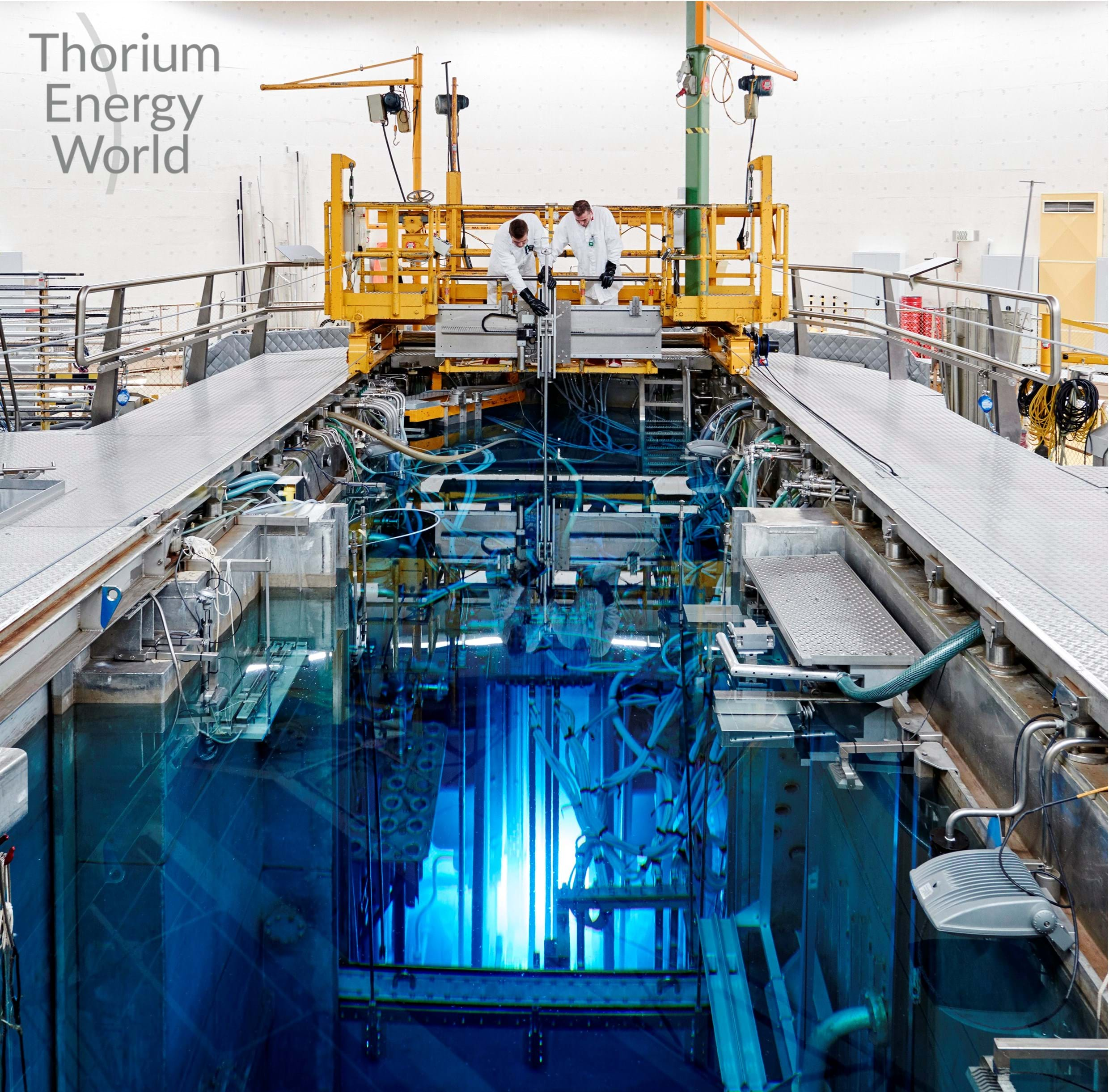 Thorium Nuclear Research Boost News The Chemical Engineer Worlds Largest Fusion Reactor A Molten Salt Tmsr Experiment First In Over 45 Years Has Been Started Netherlands