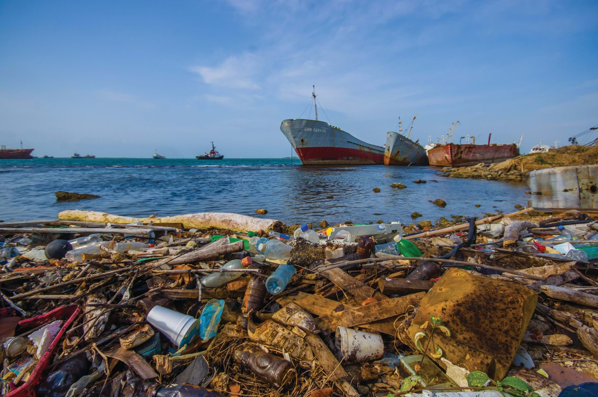 Turning Ocean Trash into Cash - Features - The Chemical Engineer