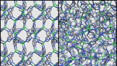 First liquid MOF described, retains porosity