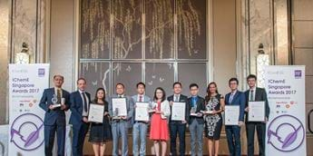 Winners announced at eighth IChemE Singapore Awards