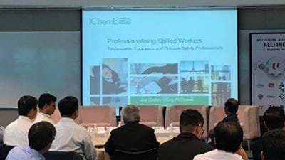 IChemE Singapore joins unique alliance on skills certification