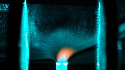 Capturing Ionic Winds
