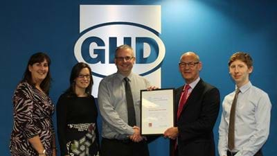 GHD is new Bronze Corporate Partner