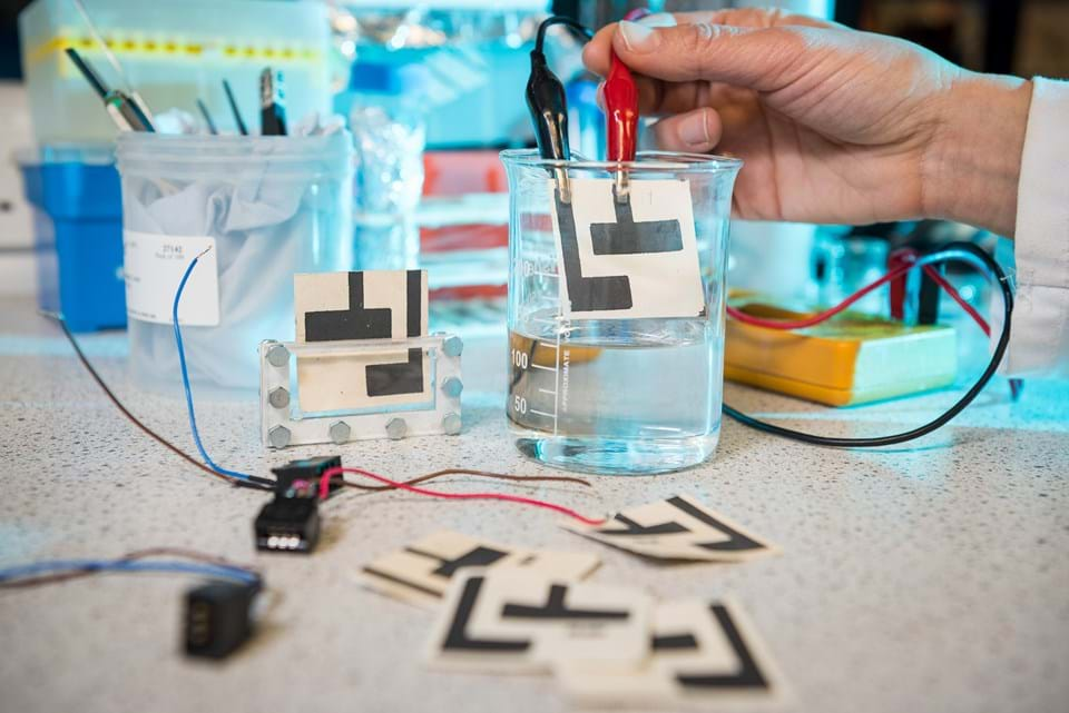 Cheap paper sensor detects water impurities - News - The Chemical ...