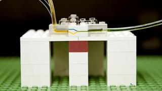 Using LEGO bricks for microfluidics