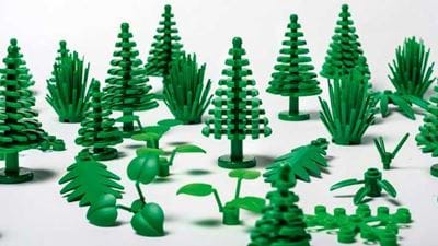 Green LEGO gets greener