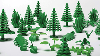 Lego makes plants from plants