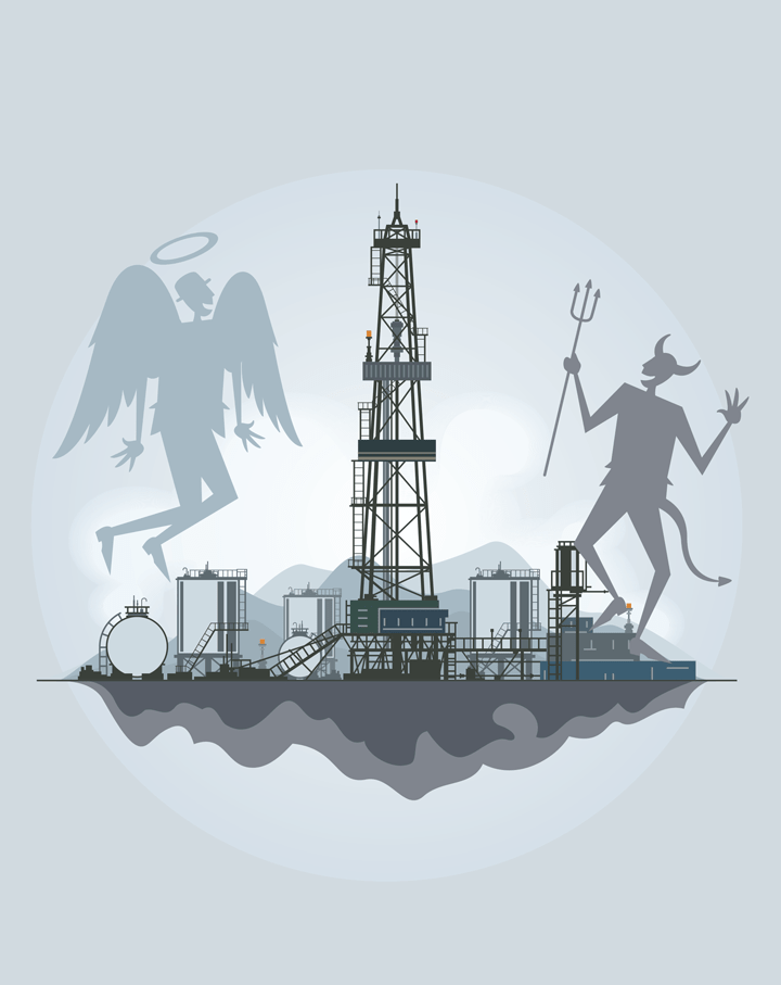 Shale Gas: Friend or Foe? - Features - The Chemical Engineer