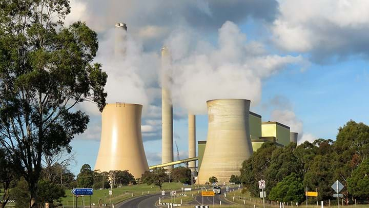 The Loy Yang coal plant in Latrobe Valley
