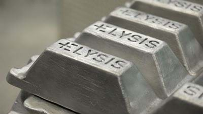 New aluminium smelting process will cut carbon emissions