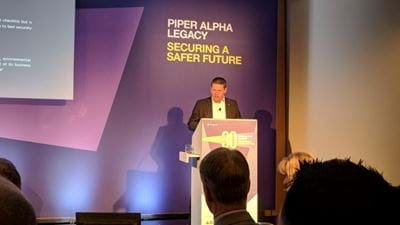 Piper Alpha conference: Chrysaor CEO issues list of challenges to oil industry