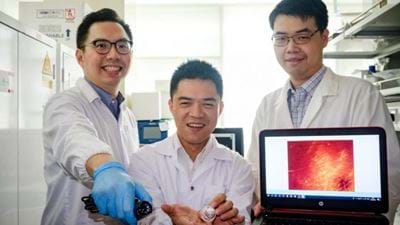 Nanoparticles for non-invasive scar detection