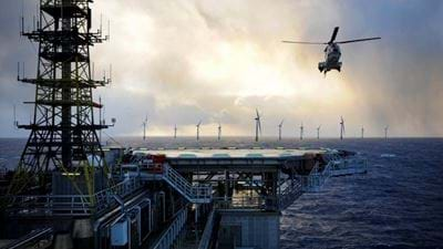 Equinor floats plan to power oil platforms with wind