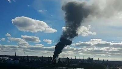 Explosion shuts down Canada's largest refinery