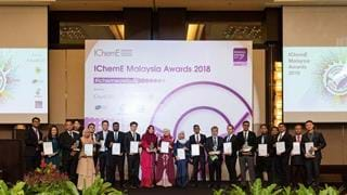 Queen of Perak presents IChemE Awards to outstanding young engineers