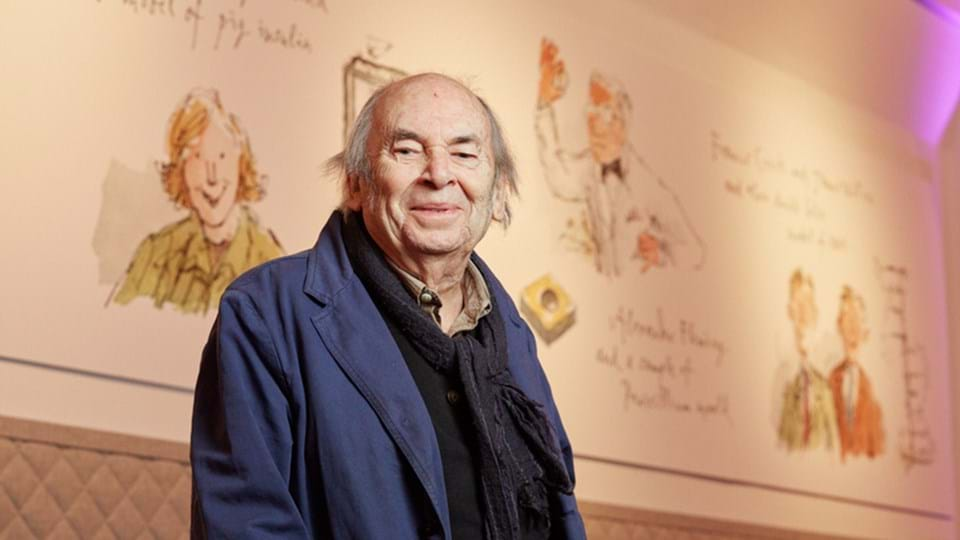 science illustrated  quentin blake artwork opens at