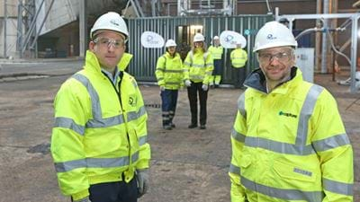 Drax starts commissioning Europe's first BECCS pilot plant