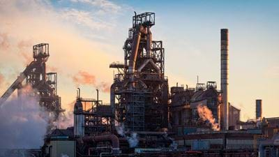 Two injured following Tata Steel explosion
