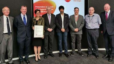 GSK made Gold Corporate Partner