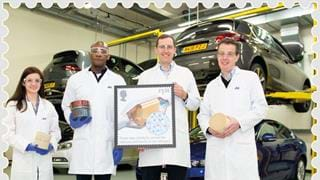 Snapshot: Royal Mail stamp of approval for engineering excellence