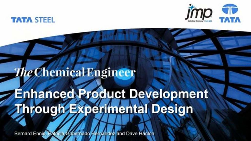 Enhanced Product Development Through Experimental Design - sponsored by JMP