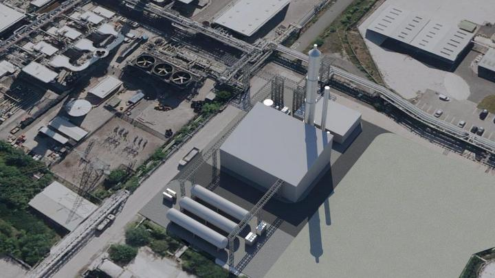 UK's first industrial-scale carbon capture plant