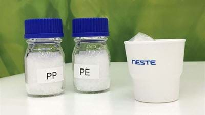 Neste and LyondellBasell claim bioplastic first