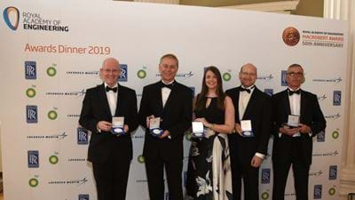 IChemE Members recognised with RAEng Major Project Award 2019