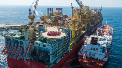First shipment from  Prelude floating liquefied natural gas facility