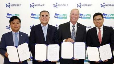 NuScale finalises agreements to support deployment of its small modular reactor