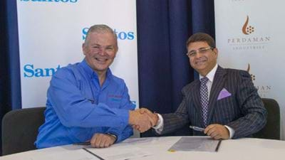 Santos and Perdaman sign HoA for an ammonium plant