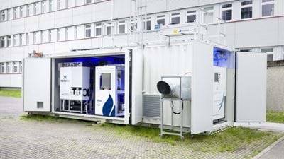 Integrated power-to-liquid test facility produces first fuel