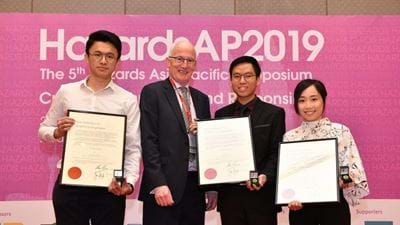 Malaysian students awarded new IChemE SEISO Medal