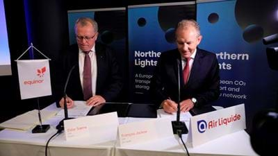 Equinor signs MoU with seven companies to develop CCS value chains