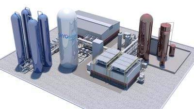 UK Government awards £10m grant for first commercial cryogenic energy storage facility