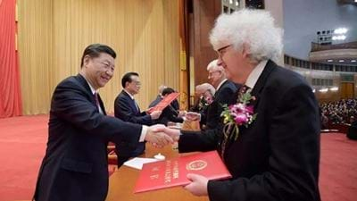 Poliakoff receives China's highest honour for foreign scientists