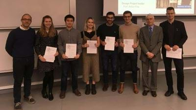 Manchester Uni students win IChemE prize for designing greener process