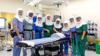 Researchers source and develop PPE to protect surgeons