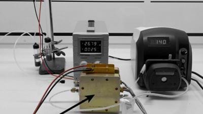 Producing ammonia with small-scale electrochemical reactors